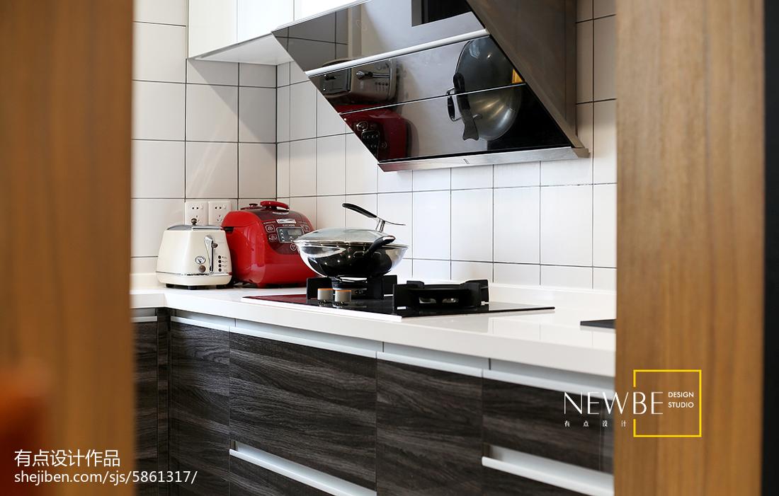 温州装修公司大全推荐质朴67平简约二居厨房装修效果图展示