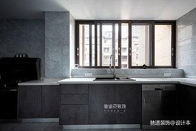 精致107平现代四居厨房设计美图