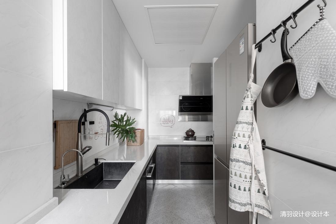 简洁53平简约二居厨房美图展示
