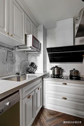 悠雅87平简约三居厨房效果图片大