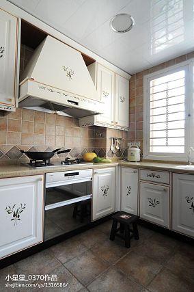精选面积137平别墅厨房欧式装修图