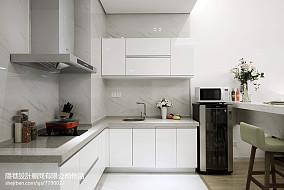 现代风格样板间厨房装修图片