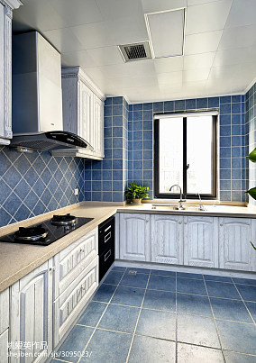 地中海风格厨房装修设计