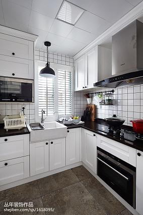 2020129平米混搭复式厨房装修设计