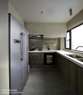 混搭风格豪宅厨房装修设计