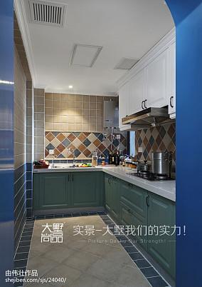 2020地中海厨房装饰图片