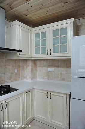 2020面积105平地中海三居厨房装修