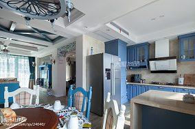 2020精选面积107平地中海三居厨房