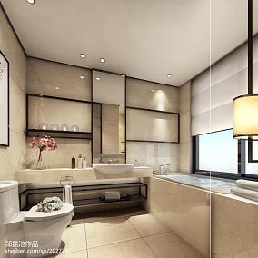 中式卫生间装修设计效果图