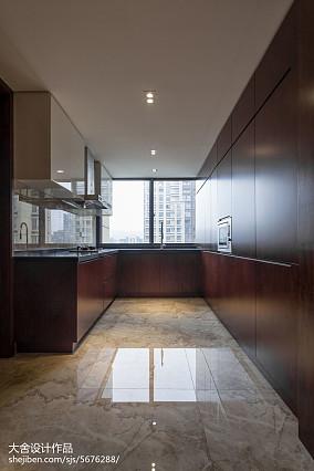 精美面积121平中式四居厨房装修设