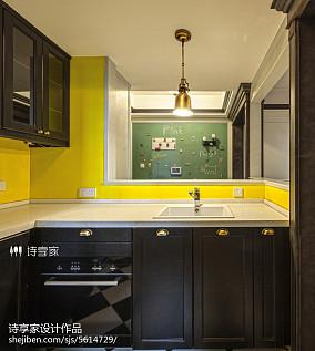 美式经典四居及以上151-200m²厨房