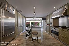 精美别墅厨房混搭装修实景图片欣