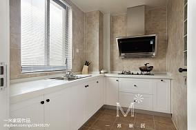 2020100平方三居厨房美式装修效果