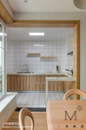 热门日式三居厨房装修效果图