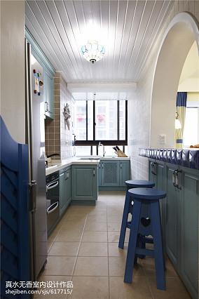 精美面积92平地中海三居厨房设计