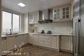 2020109平米三居厨房美式实景图片