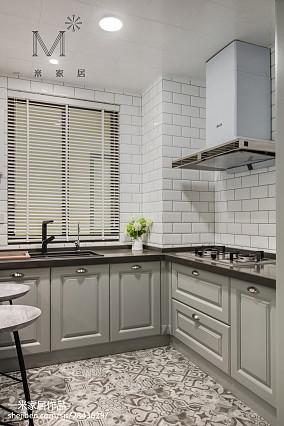 精美美式二居厨房欣赏图片