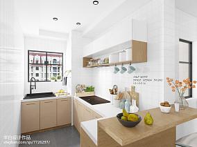 日式二居厨房装修实景图片大全