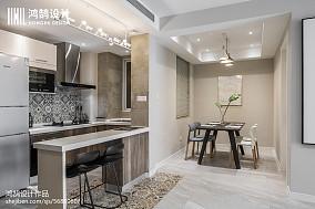 2020精选面积83平北欧二居厨房装修
