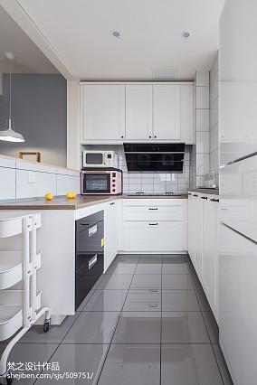 2020精选面积96平北欧三居厨房装修
