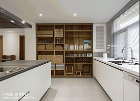 2020精选面积136平日式四居厨房效