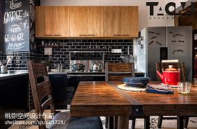 热门面积106平混搭三居厨房装修设