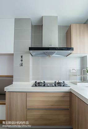 精美面积109平日式三居厨房装修设