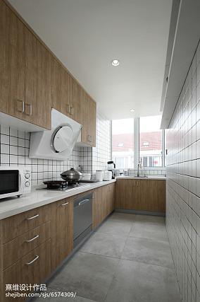 2020精选面积129平日式四居厨房装
