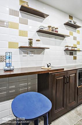 北欧厨房柜台设计图