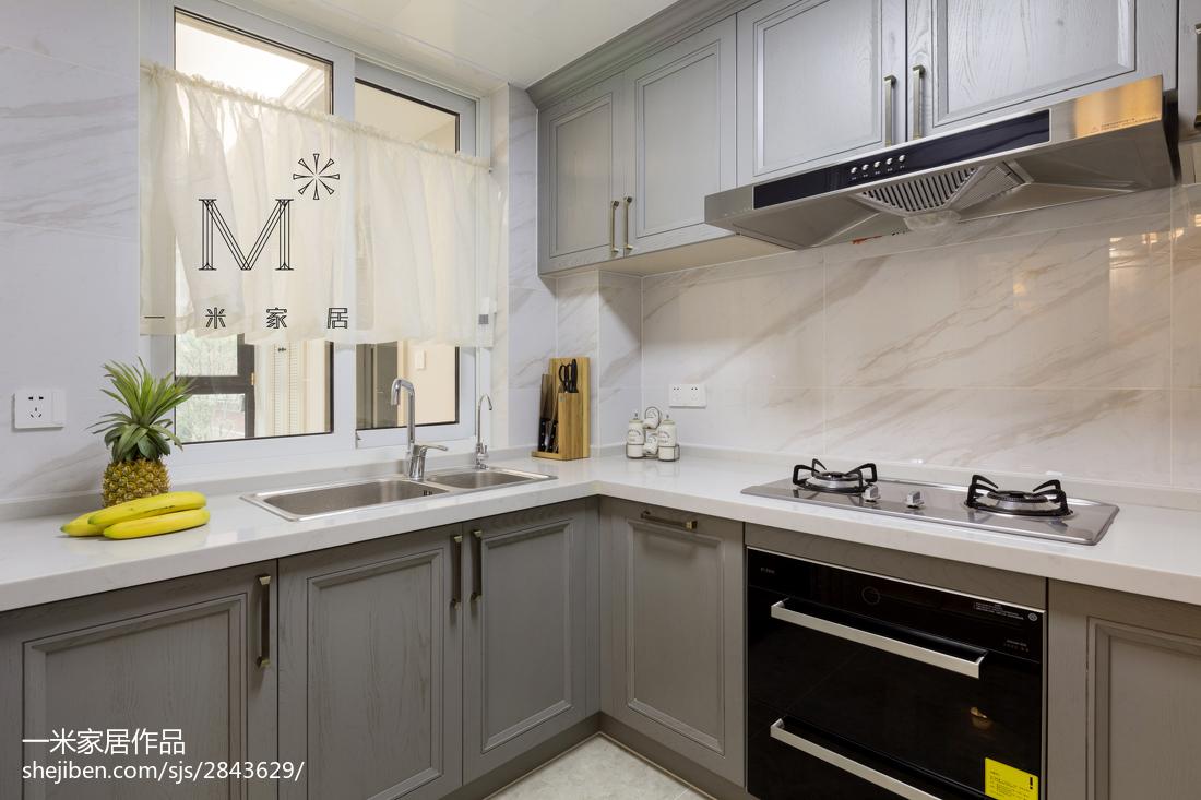 108平现代风格三居厨房效果图展示