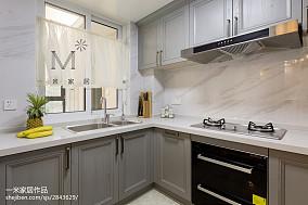 108平现代风格三居厨房效果图