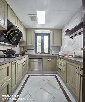 热门85平米二居厨房中式装修欣赏