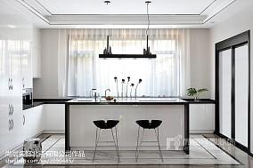 精美120平米中式别墅厨房