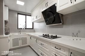 苏州装修公司推荐热门82平米二居厨房美式装修设计效果图