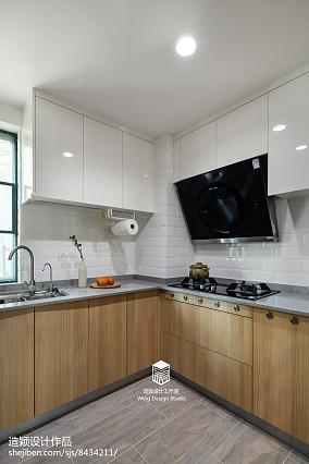 热门107平米三居厨房日式装饰图片