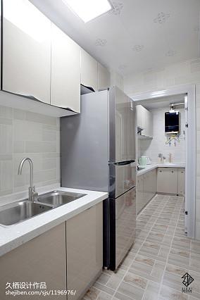 常州知名装修公司精选悠雅21平北欧小户型厨房装修设计图