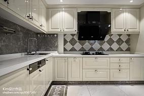 精美面积130平复式厨房装修实景图