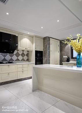 2020119平米复式厨房装修效果图片