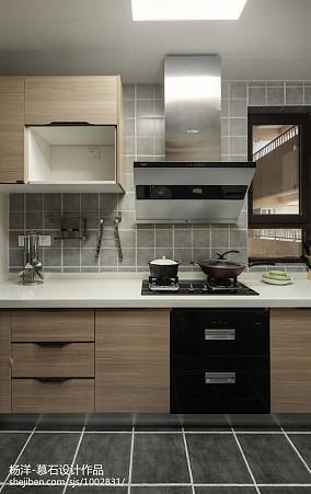精选三居厨房日式装修欣赏图