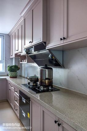 精致104平北欧三居厨房实拍图