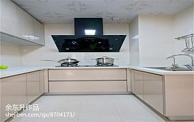 精选110平米四居厨房现代装饰图