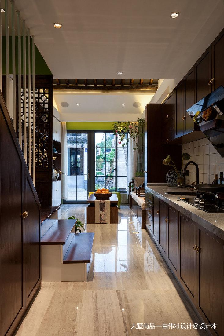 2020精选厨房中式房屋装修设计效果图展示