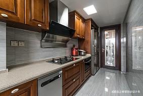 大气146平中式四居厨房装修图