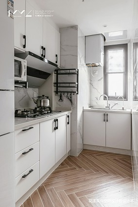 温馨78平日式二居厨房设计效果图