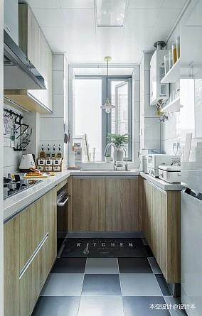 精致86平北欧三居厨房效果图