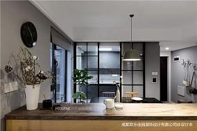 现代简约三居81-100m²厨房