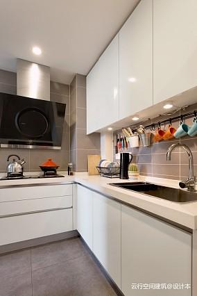 北欧极简二居61-80m²厨房装饰