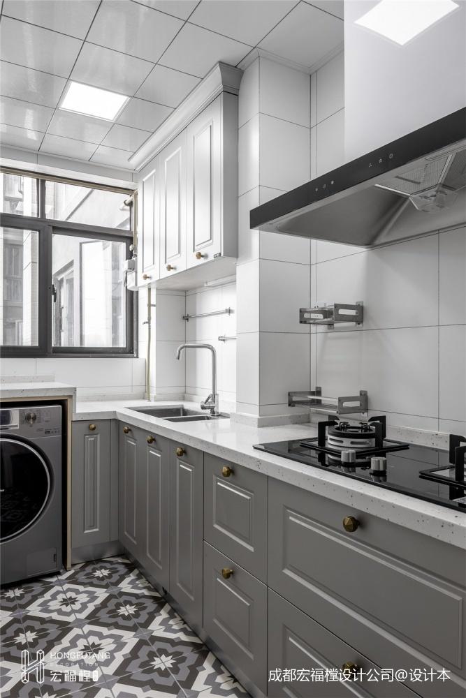 维纳星空美式经典三居101-120m²厨房展示