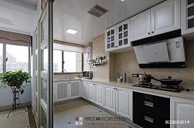 美式田园三居121-150m²厨房装饰