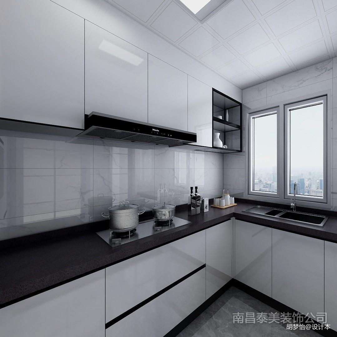现代简约三居101-120m²厨房展示